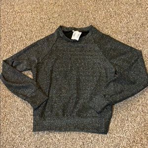 Tops - Gold and black sparkle thin sweatshirt